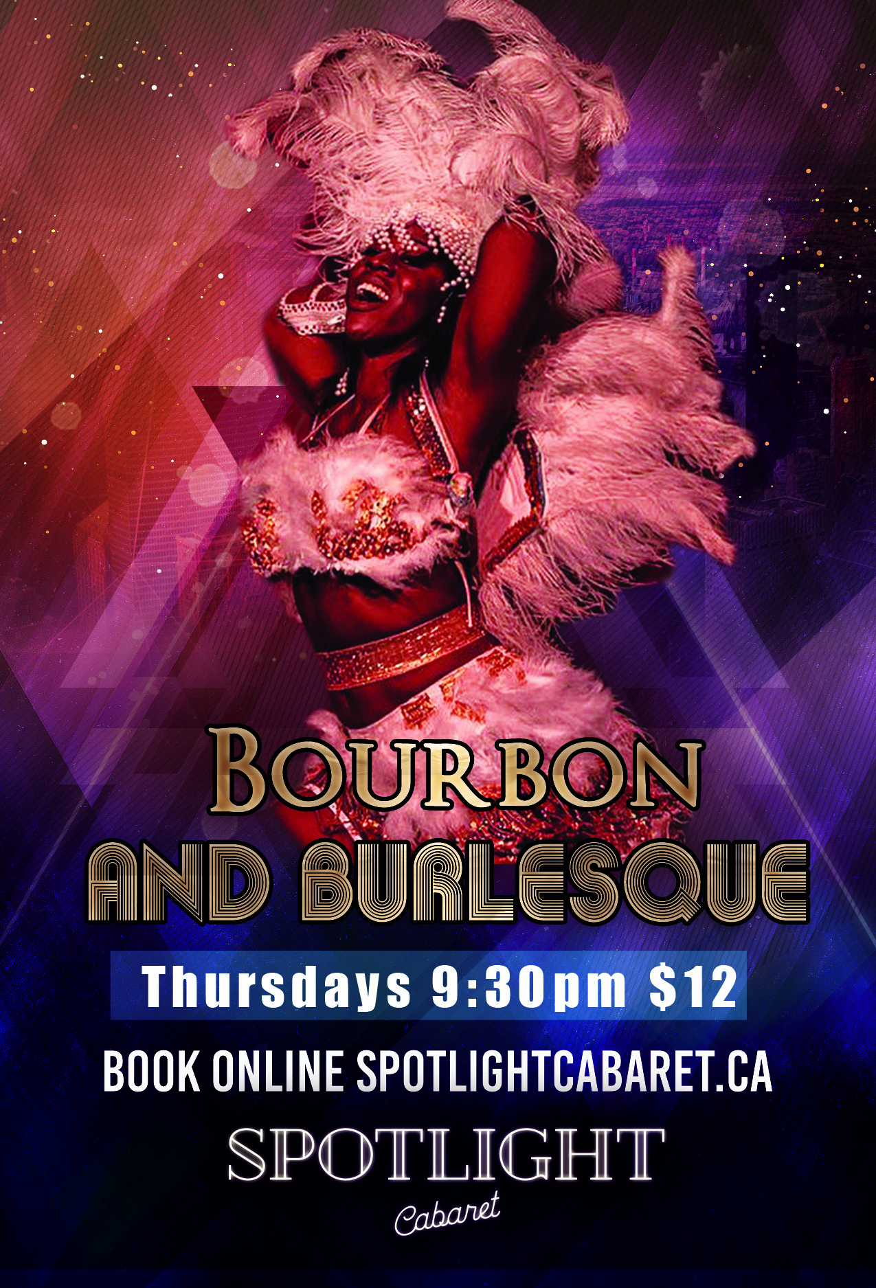 Bourbon and Burlesque TIME CHANGE 8pm Start