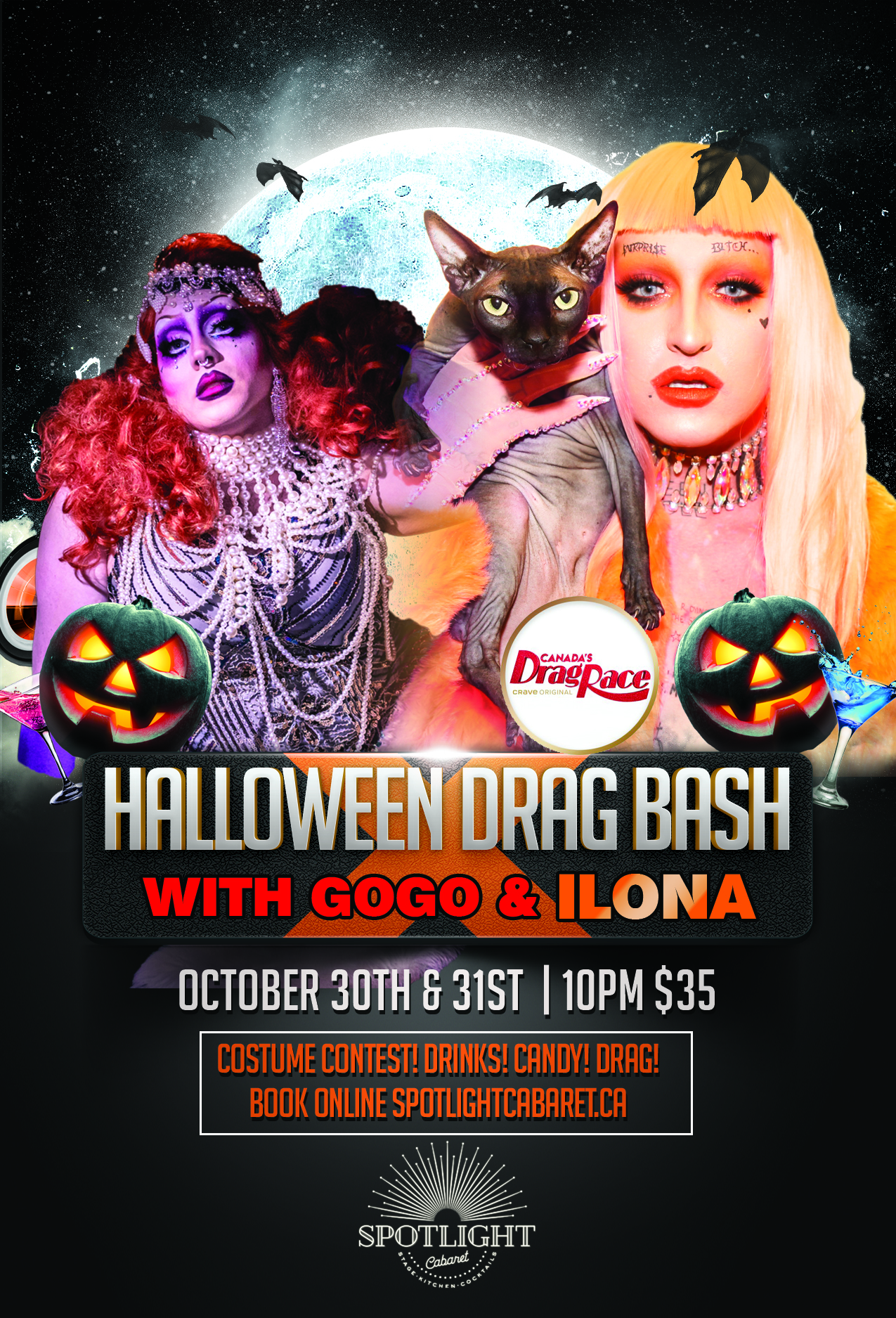 Halloween Bash With Gogo and ILONA SOLD OUT