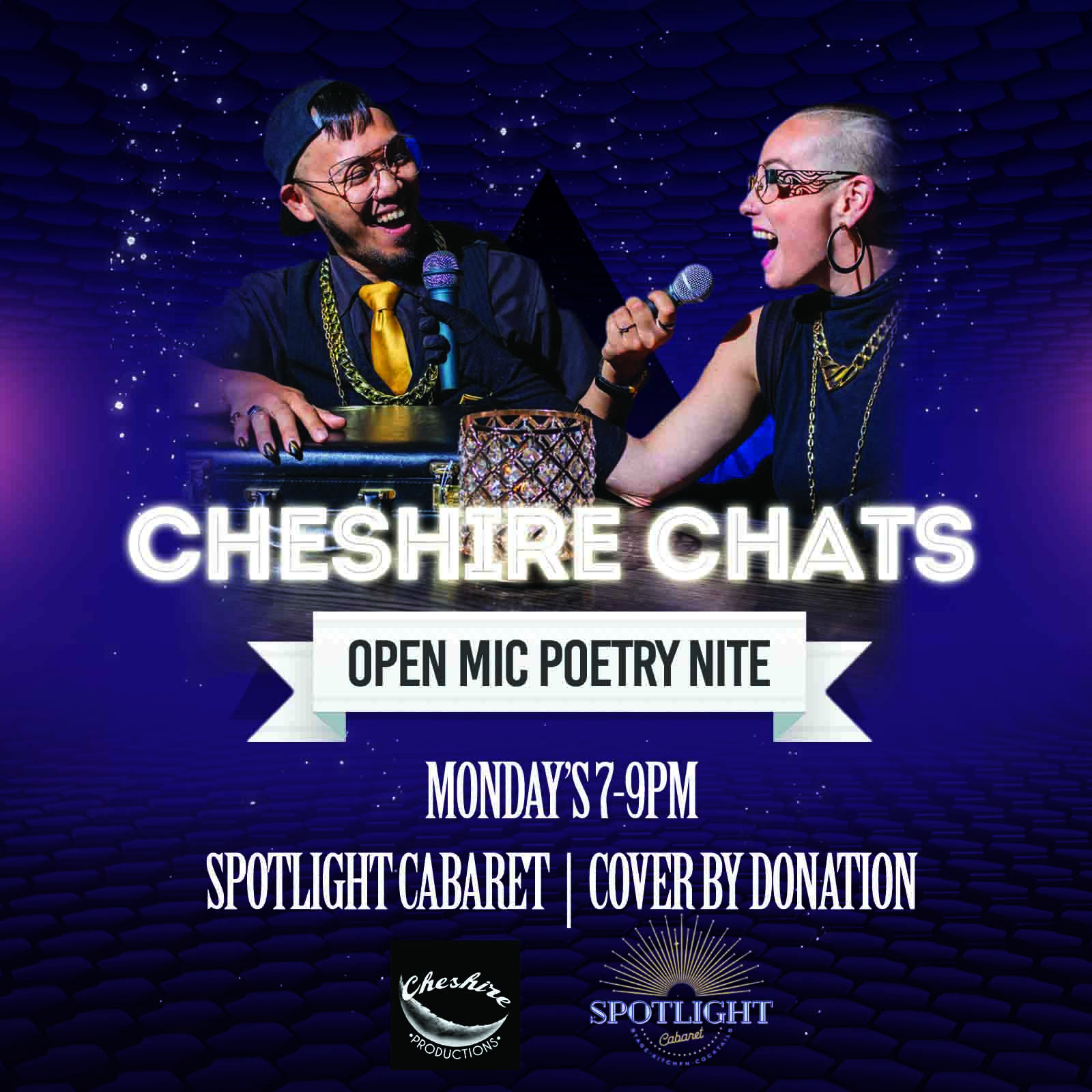 Cheshire Chats Open Mic Poetry Nite