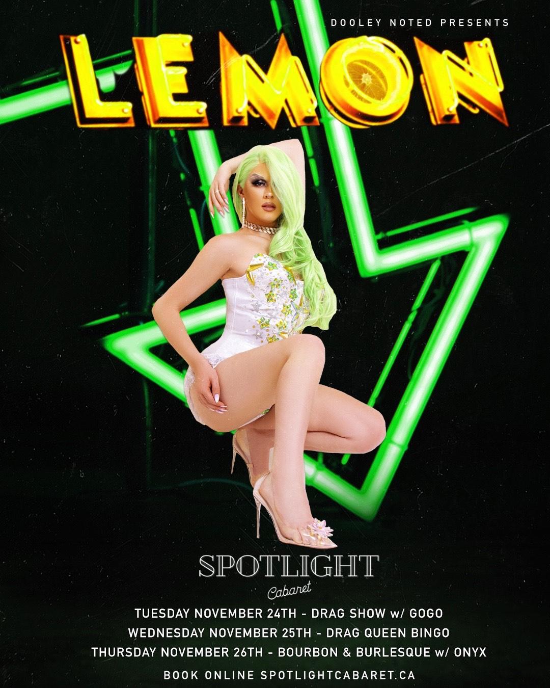 Drag Show Feat. LEMON SOLD OUT