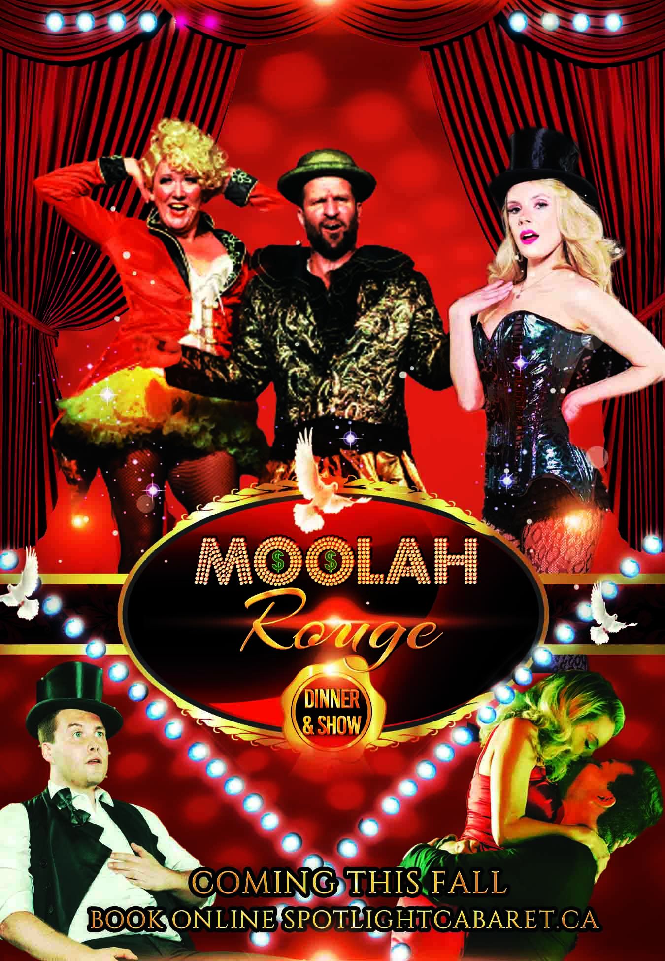 Moolah Rouge - Dinner & Show Sunday Special