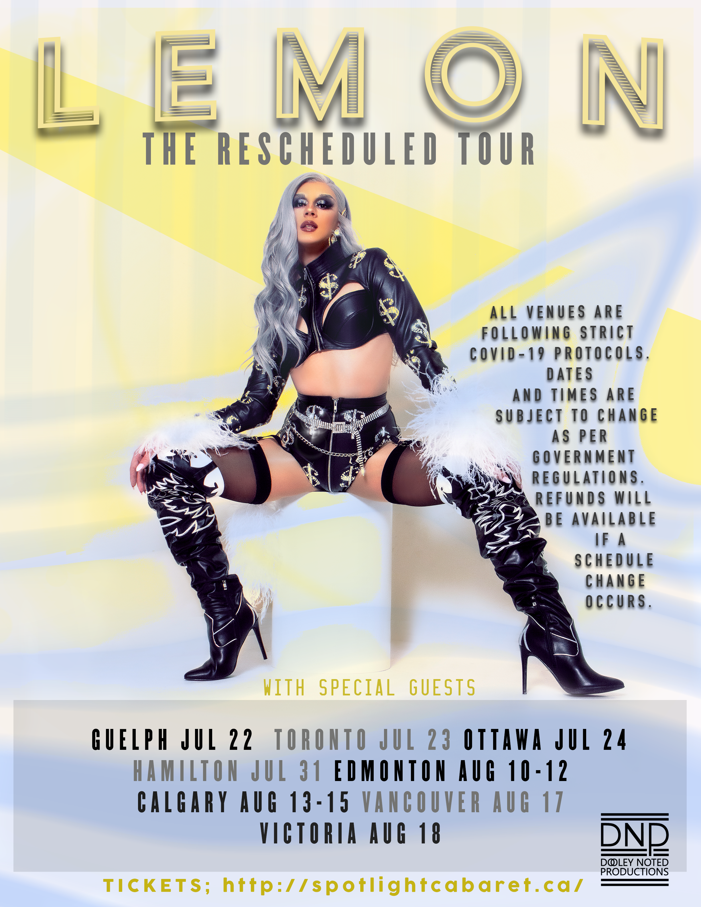 SOLD OUT - LEMON The Rescheduled Tour