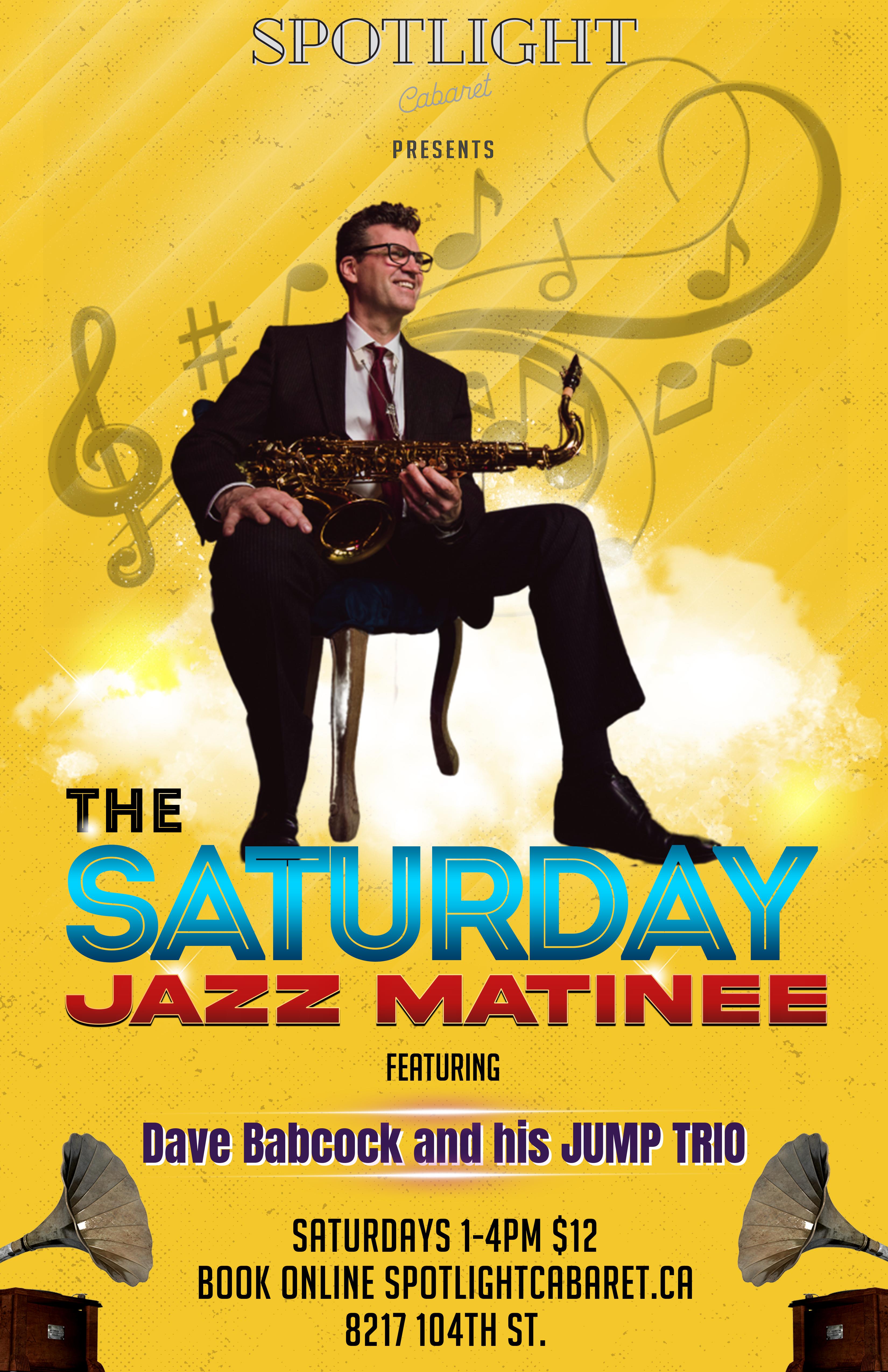 The Saturday Jazz Matinee w/Dave Babcock